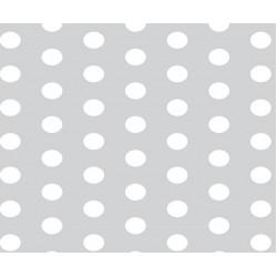Grown Baby 152-7 Gri Beyaz Puantiyeli Duvar Kağıdı