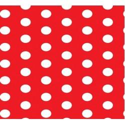 Grown Baby 152-9 Kırmızı Beyaz Puantiyeli Duvar Kağıdı