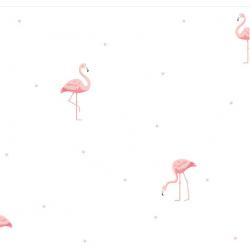 Lindo 244017 Flamingo Desen Çocuk Odası Duvar Kağıdı