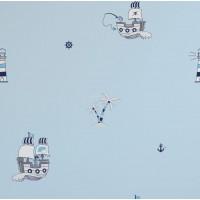 Milky Baby 422-1 Korsan Temalı Çocuk Odası Duvar Kağıdı