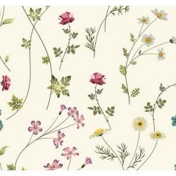 New Selection 337-1 Çiçek Desenli Duvar Kağıdı