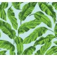 New Selection 338-2 Yeşil Yaprak Desenli Duvar Kağıdı