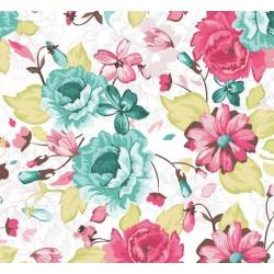 New Selection 342-1 Çiçek Desenli Duvar Kağıdı