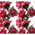 New Selection 347-1 Kırmızı Çiçekli Duvar Kağıdı
