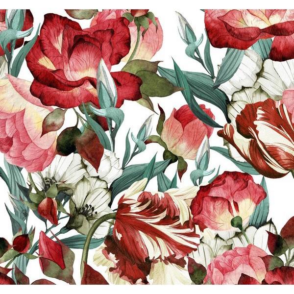 New Selection 349-1 Non Woven Çiçekli Duvar Kağıdı