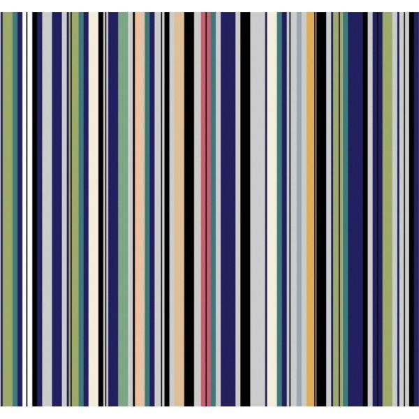 Pop Art 512075 Çok Renkli Çizgi Desen Duvar Kağıdı