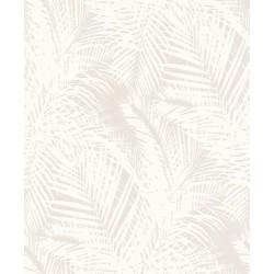 Rasch Wallton 126426 Yaprak Desenli Boyanabilir Duvar Kağıdı