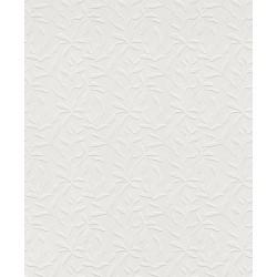 Rasch Wallton 888508 Çiçek Desenli Boyanabilir Duvar Kağıdı