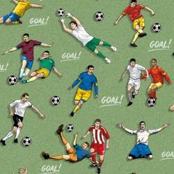 Vision 202-A Futbol Temalı Çocuk Odası Duvar Kağıdı