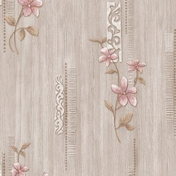 Vision 275-B Çiçek Desenli Duvar Kağıdı